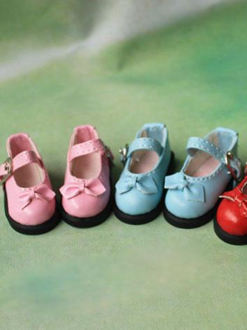 Bjd Shoes Boy/Girl Black/Wh...