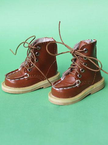 Bjd Shoes Boy/Girl Brown Sh...
