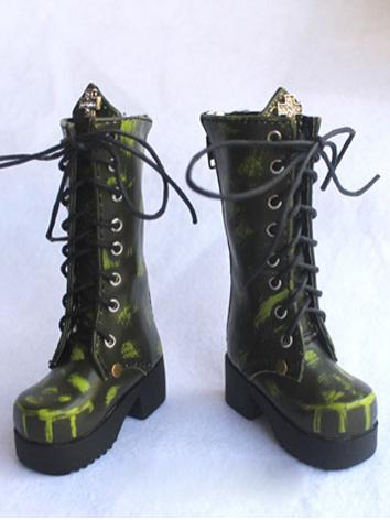 Bjd Shoes Boy/Girl Punk Boo...