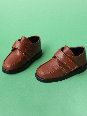 Bjd Shoes Boy/Girl Black/Br...