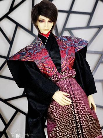 BJD Clothes Boy/Male Kimono [Juehe] for 80cm/75cm/70cm/SD Ball-jointed Doll
