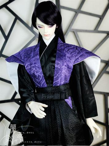 BJD Clothes Boy/Male Kimono [Ziyan] for 80cm/75cm/70cm/SD Ball-jointed Doll