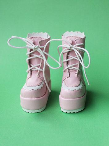 Bjd Shoes Boy/Girl Pink Swe...