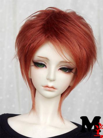 BJD Wool Wig Brown Wig for YSD/MSD/SD Size Ball-jointed Doll