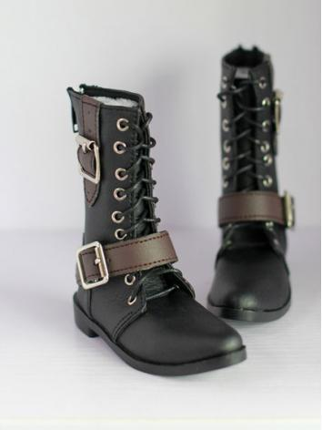 Bjd Shoes Boy Black Short B...