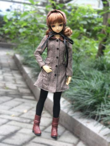 BJD Clothes Coat for SD/MSD...