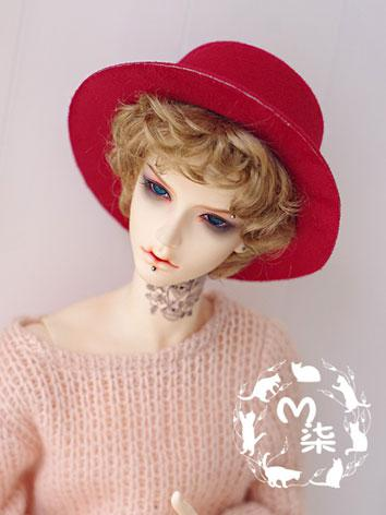 BJD Boy/Girl Black/Brown/Re...