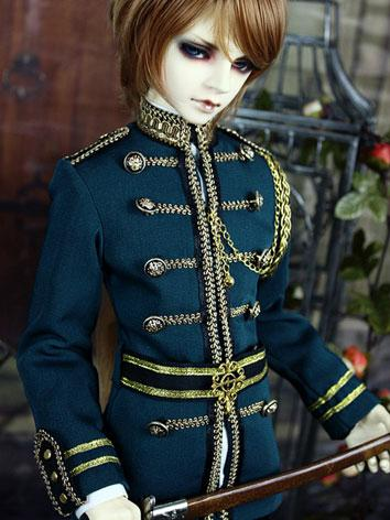 Bjd Clothes Boy Retro Army ...