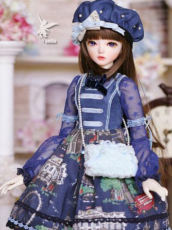 Bjd Clothes Girl Setlla Blu...