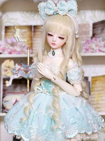 Bjd Clothes Girl Mavis Blue...