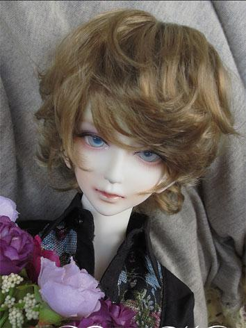 BJD Wig Silver/Borwn/Black/Gold Wig for SD/MSD/YSD Size Ball-jointed Doll