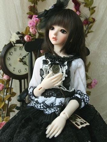 Bjd Clothes Girl Verna Whit...
