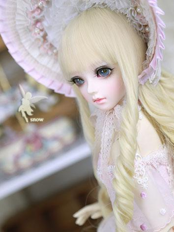 Bjd Clothes Girl Snow Pink Outfit Set for SD size Ball-jointed Doll