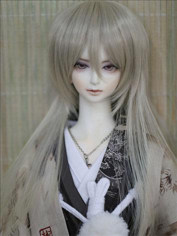 BJD WigMale/Female Golden gray Wig for SD/MSD Size Ball-jointed Doll