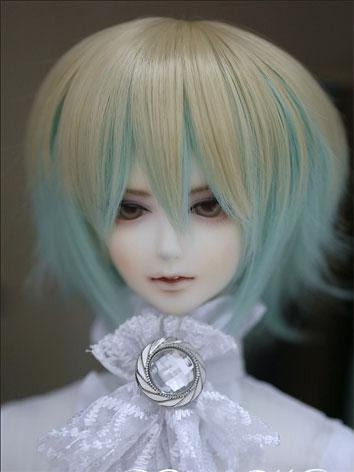 BJD Wig Male/Female Gold&Blue Multi color Short Wig for SD Size Ball-jointed Doll