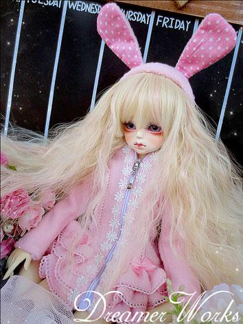 BJD Clothes Cute Pink Coat ...