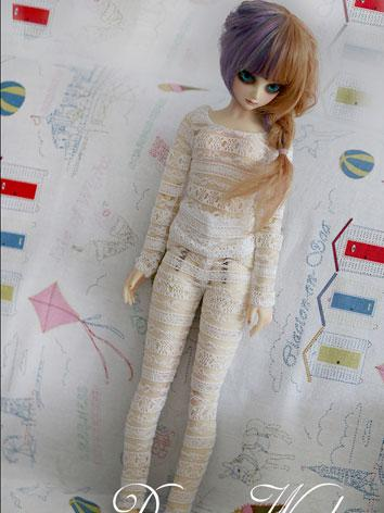 BJD Clothes White Underwear Suit for MSD/SD Ball-jointed Doll