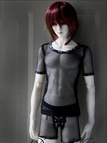 BJD Clothes Male Black Unde...