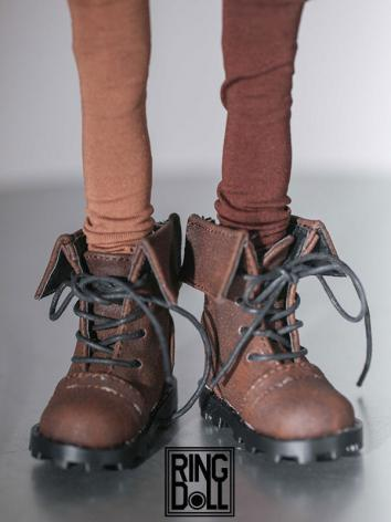 Bjd Shoes Brown Shoes Rshoes45-13 of MSD Ball-jointed Doll