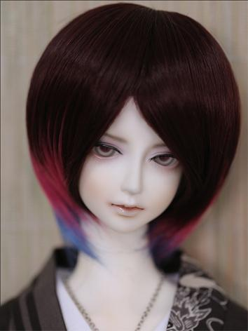 BJD Wig Male/Female Multi color Wig for SD Size Ball-jointed Doll