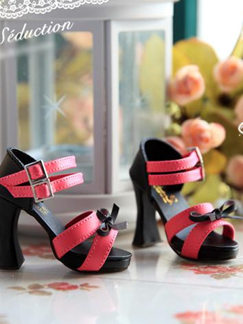 Bjd Girl/Female Red Sandals...