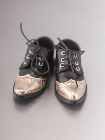 Bjd Shoes Boy Black Shoes R...