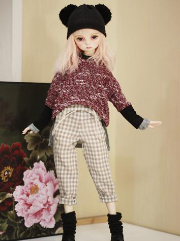 BJD Clothes Male/Female Winter Suit for MSD Ball-jointed Doll