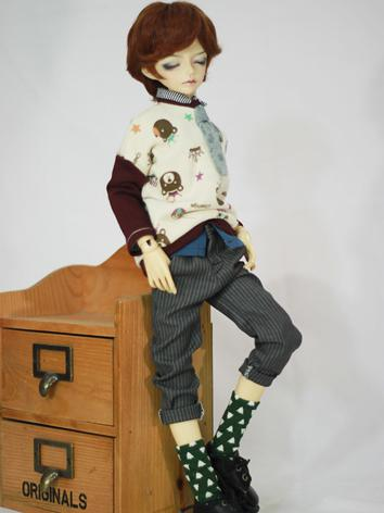 BJD Clothes Male/Female Leisure Suit for MSD Ball-jointed Doll