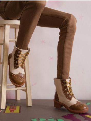 Bjd Shoes Male Retro Shoes for 70cm Size Ball-jointed Doll
