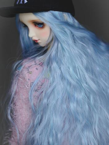 01 MUZI Wig BJD Doll Wig Light Golden Long Curly Hair Wigs for 1//3 BJD SD Doll Hair Wigs Doll Accessories