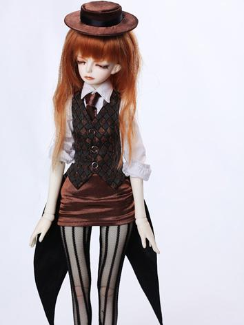 BJD Clothes Girl Suit C45-057 for MSD Ball-jointed Doll