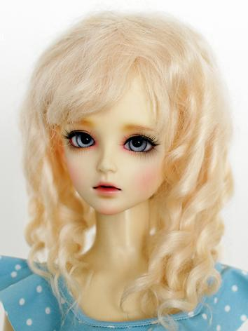 BJD Wig Female Gold/Coffee/...