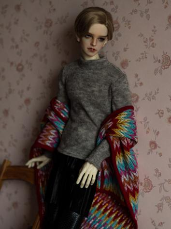 BJD Clothes Gray Sweater A161 for MSD/SD/70cm Size Ball-jointed Doll