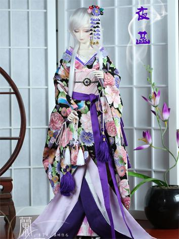 BJD Clothes Boy/Girl Kimono Set [Yehan] for 75cm/70cm/SD/MSD/YSD Ball-jointed Doll