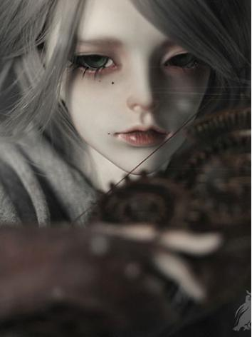 NEW BJD Gray 62cm Male Boll-jointed doll