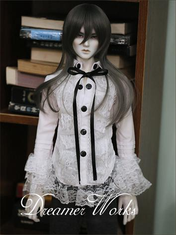 BJD Clothes White Shirt for...