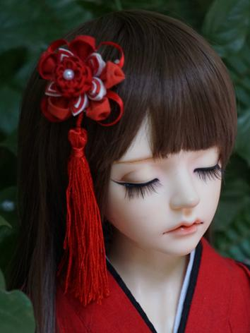 BJD Kimono Hairpin Hairpiece[Huoji]for MSD/SD/70cm Ball-jointed doll