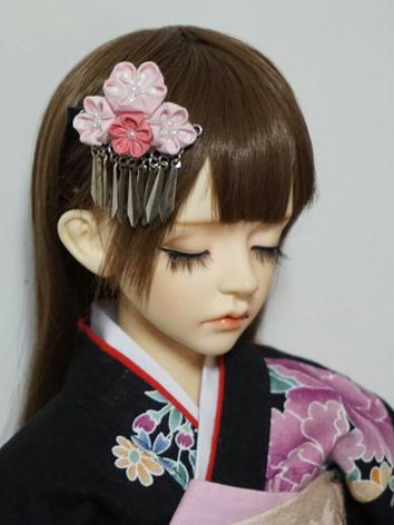 BJD Kimono Hairpin Hairpiece[Dailian]for MSD/SD/70cm Ball-jointed doll