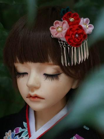 BJD Kimono Hairpin Hairpiece[Homgyi]for MSD/SD/70cm Ball-jointed doll
