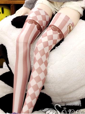 Bjd Socks Lady Sweet Girl High Stockings for SD Ball-jointed Doll