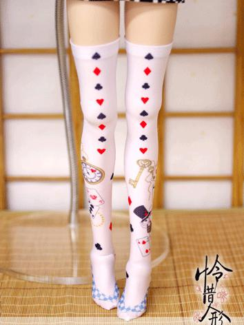 Bjd Socks Lady Sweet Girl W...