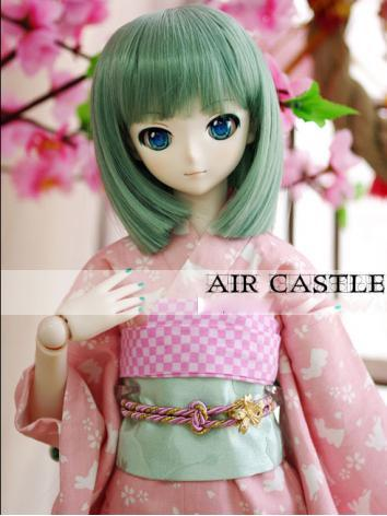 BJD Wig 1/3 hair Green Short Wig for SD Size Ball-jointed Doll