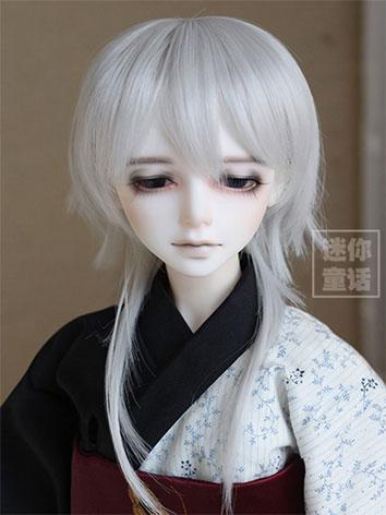 BJD Boy Silver Wig for SD Size Ball-jointed Doll