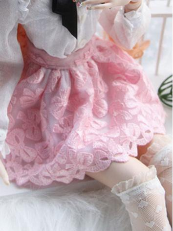BJD Clothes Female Girl Pink Skirt for SD/DD/MSD Size Ball-jointed Doll
