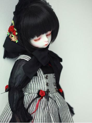 BJD Clothes Girl Black Suit...