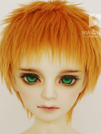 BJD Wig Sandy Hair Wool Wig...