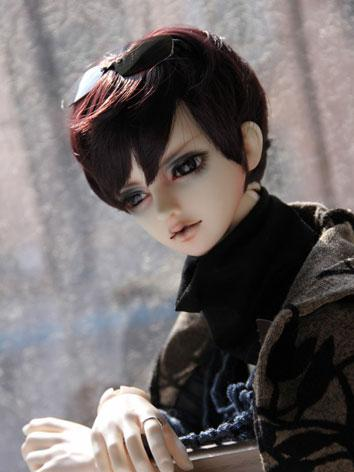 BJD Male/Female Dark Wine S...