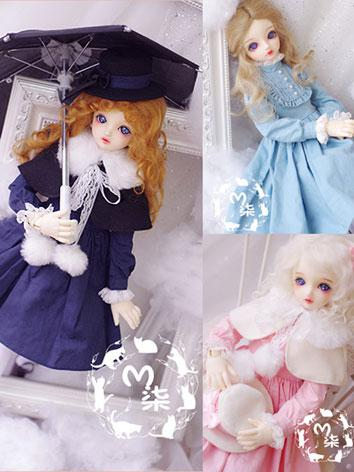 BJD Clothes Girl Dress Suit for MSD Ball-jointed Doll
