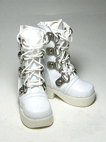 Bjd Shoes Male White/Black ...