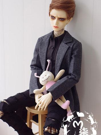 BJD Clothes Boy Gray/Blue/B...